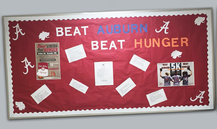 UA Dorm Bulletin Board