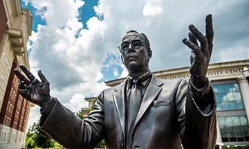 Statue of Robert E. Witt