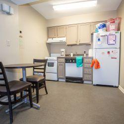 UA Highlands Apartment Kitchen